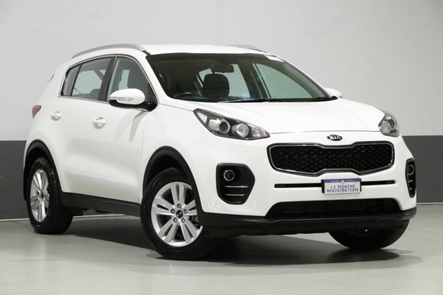 Used Kia Sportage QL MY18 SI (FWD), 2018 Kia Sportage QL MY18 SI (FWD) White 6 Speed Automatic Wagon