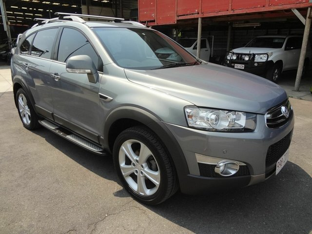Used Holden Captiva CG MY12 7 LX (4x4), 2013 Holden Captiva CG MY12 7 LX (4x4) Grey 6 Speed Automatic Wagon