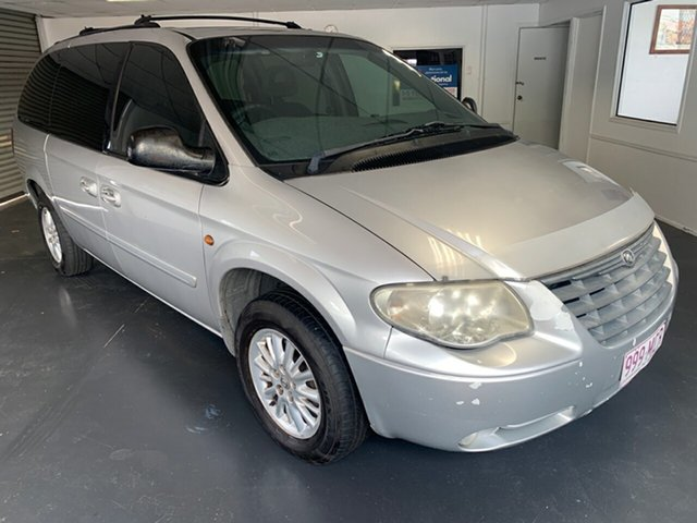 Used Chrysler Grand Voyager RG LX Vision, 2006 Chrysler Grand Voyager RG LX Vision Silver 4 Speed Automatic Wagon