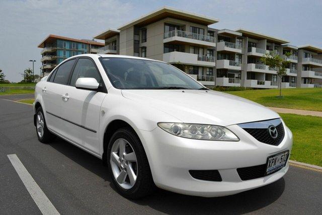 Used Mazda 6 GG1031 Classic, 2003 Mazda 6 GG1031 Classic White 4 Speed Sports Automatic Hatchback