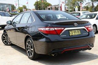 2016 Toyota Camry ASV50R Atara SX Eclipse Black 6 Speed Sports Automatic Sedan.