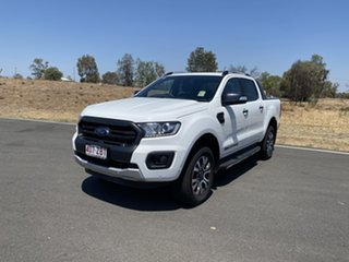 2019 Ford Ranger PX MkIII 2019.75MY Wildtrak Pick-up Double Cab Arctic White 10 Speed