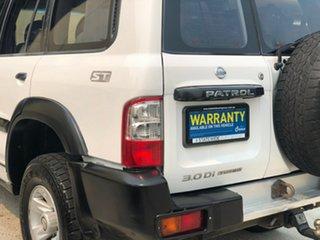 2003 Nissan Patrol GU III ST (4x4) White 5 Speed Manual Wagon