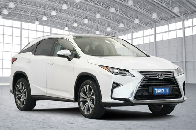 Used Lexus RX AGL20R RX200t Luxury, 2016 Lexus RX AGL20R RX200t Luxury White 6 Speed Sports Automatic Wagon