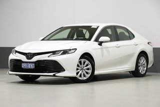 2018 Toyota Camry ASV70R Ascent White 6 Speed Automatic Sedan.