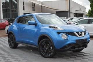 2019 Nissan Juke F15 MY18 Ti-S 2WD Vivid Blue 6 Speed Manual Hatchback.