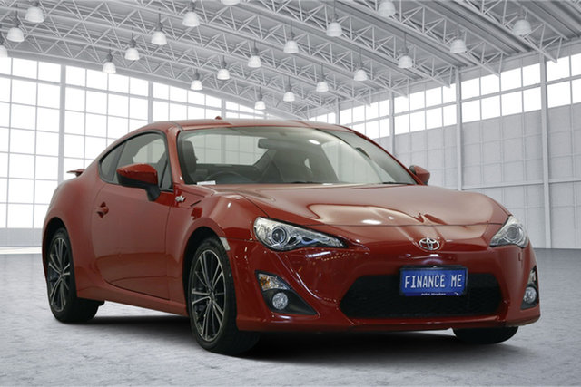 Used Toyota 86 ZN6 GTS, 2014 Toyota 86 ZN6 GTS Red 6 Speed Manual Coupe
