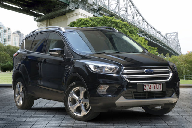 Used Ford Escape ZG 2019.25MY Trend 2WD, 2019 Ford Escape ZG 2019.25MY Trend 2WD Black 6 Speed Sports Automatic Wagon