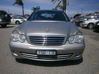 2005 Mercedes-Benz C-Class W203 MY2006 C350 Avantgarde Gold 7 Speed Sports Automatic Sedan.