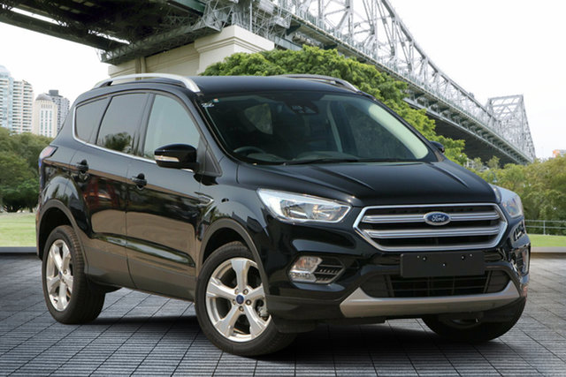 Used Ford Escape ZG 2018.00MY Trend 2WD, 2018 Ford Escape ZG 2018.00MY Trend 2WD Black 6 Speed Sports Automatic Wagon