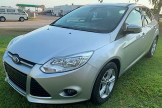 2013 Ford Focus LW MkII Trend Silver 5 Speed Manual Hatchback