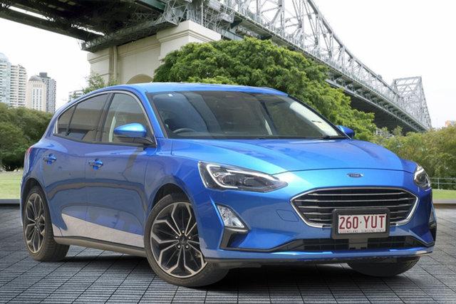 Used Ford Focus SA 2019MY Titanium, 2018 Ford Focus SA 2019MY Titanium Blue 8 Speed Automatic Hatchback