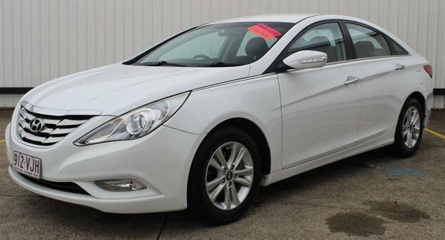 Used Hyundai i45 YF MY11 Active, 2011 Hyundai i45 YF MY11 Active Noble White 6 Speed Sports Automatic Sedan
