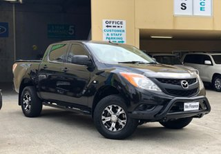 2012 Mazda BT-50 XT Hi-Rider (4x2) Black 6 Speed Automatic Cab Chassis