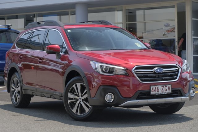 Demo Subaru Outback B6A MY19 2.5i CVT AWD Premium, 2019 Subaru Outback B6A MY19 2.5i CVT AWD Premium Crimson Red 7 Speed Constant Variable Wagon