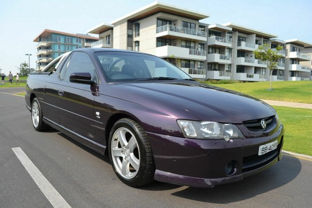 Used Holden Ute VY II Storm S, 2004 Holden Ute VY II Storm S Purple 4 Speed Automatic Utility