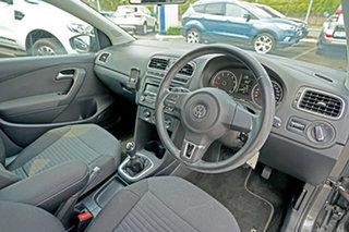 2013 Volkswagen Polo 6R MY14 77TSI Comfortline Grey 6 Speed Manual Hatchback