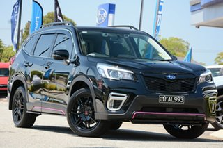 2019 Subaru Forester S5 MY20 2.5i-S CVT AWD Crystal Black 7 Speed Constant Variable Wagon.