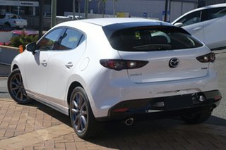 2021 Mazda 3 BP2H7A G20 SKYACTIV-Drive Touring Snowflake White Pearl 6 Speed Sports Automatic.