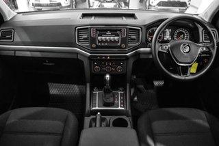 2018 Volkswagen Amarok 2H MY18 TDI550 4MOTION Perm Highline Beige 8 Speed Automatic Utility.