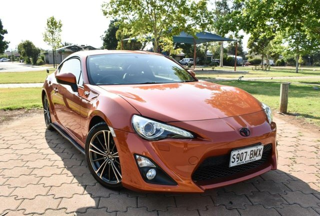 Used Toyota 86 ZN6 GT, 2013 Toyota 86 ZN6 GT Orange 6 Speed Manual Coupe