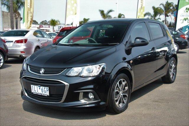 Used Holden Barina TM MY18 LS, 2017 Holden Barina TM MY18 LS Black 6 Speed Automatic Hatchback