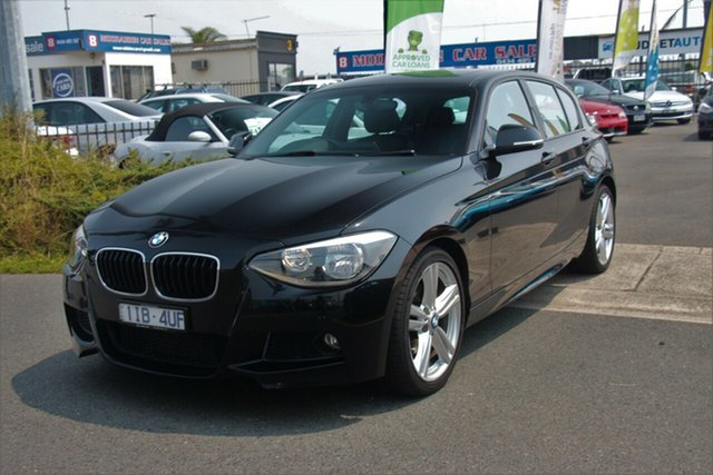 Used BMW 1 Series F20 MY0713 125i M Sport, 2013 BMW 1 Series F20 MY0713 125i M Sport Black 8 Speed Sports Automatic Hatchback