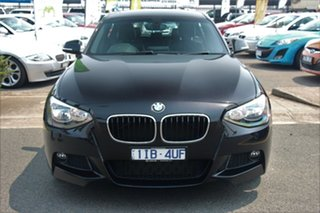 2013 BMW 1 Series F20 MY0713 125i M Sport Black 8 Speed Sports Automatic Hatchback.