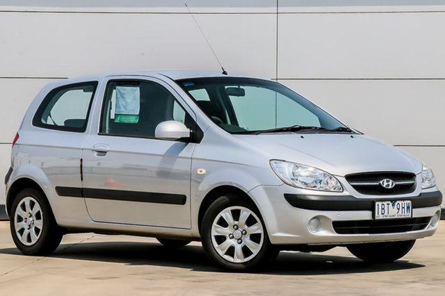 Used Hyundai Getz TB MY09 S, 2010 Hyundai Getz TB MY09 S Space Silver 4 Speed Automatic Hatchback