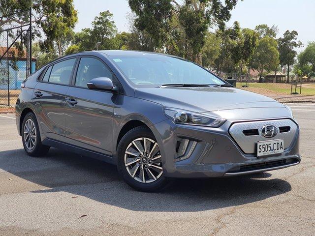 Demo Hyundai Ioniq AE.3 MY20 electric Elite, 2019 Hyundai Ioniq AE.3 MY20 electric Elite Iron Gray 1 Speed Reduction Gear Fastback