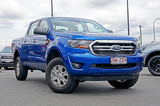 Used Ford Ranger PX MkIII 2019.75MY XLS Pick-up Double Cab, 2019 Ford Ranger PX MkIII 2019.75MY XLS Pick-up Double Cab Blue Lightning 6 Speed Sports Automatic