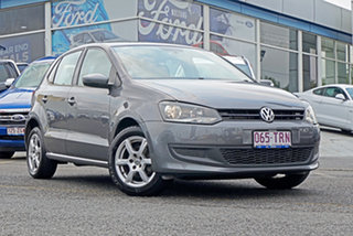 2013 Volkswagen Polo 6R MY14 77TSI Comfortline Grey 6 Speed Manual Hatchback.