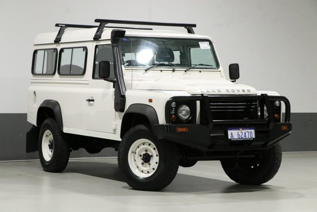 Used Land Rover Defender MY09 110 (4x4), 2009 Land Rover Defender MY09 110 (4x4) White 6 Speed Manual Wagon