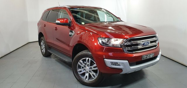 Used Ford Everest UA Trend 4WD, 2016 Ford Everest UA Trend 4WD Sunset Red 6 Speed Sports Automatic Wagon