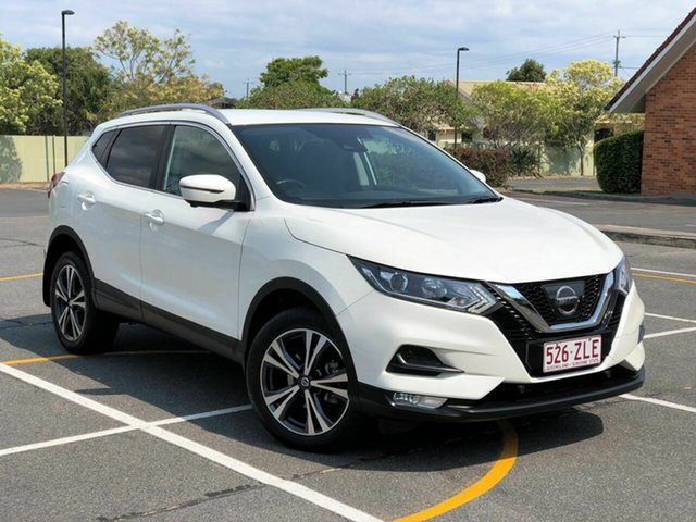 Used Nissan Qashqai J11 Series 2 ST-L X-tronic, 2017 Nissan Qashqai J11 Series 2 ST-L X-tronic White 1 Speed Constant Variable Wagon