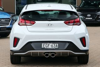 2019 Hyundai Veloster JS MY20 Turbo Chalk White 7 Speed Auto Dual Clutch Coupe