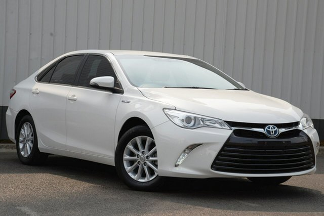 Used Toyota Camry AVV50R Altise, 2016 Toyota Camry AVV50R Altise White 1 Speed Constant Variable Sedan Hybrid