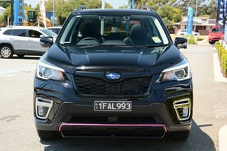 2019 Subaru Forester S5 MY20 2.5i-S CVT AWD Crystal Black 7 Speed Constant Variable Wagon