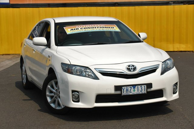Used Toyota Camry AHV40R Hybrid, 2011 Toyota Camry AHV40R Hybrid White 1 Speed Constant Variable Sedan Hybrid