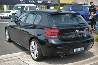 2013 BMW 1 Series F20 MY0713 125i M Sport Black 8 Speed Sports Automatic Hatchback
