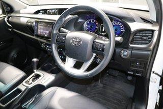 2017 Toyota Hilux GUN126R MY17 SR5 (4x4) White 6 Speed Automatic Dual Cab Utility
