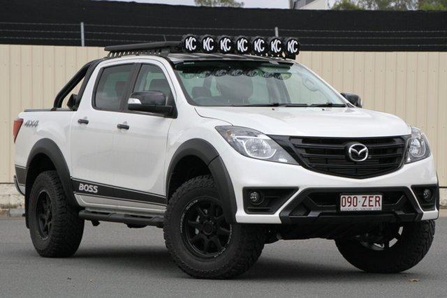 Demo Mazda BT-50 UR0YG1 Boss, BT-50 U 6AUTO 3.2L DUAL CAB UTILITY BOSS 4X4 WHITE