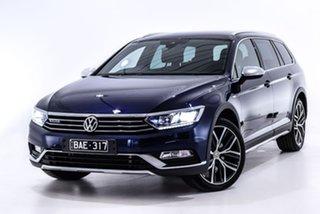 2018 Volkswagen Passat 3C (B8) MY18 Alltrack DSG 4MOTION Wolfsburg Edition Blue 7 Speed.