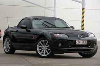 2007 Mazda MX-5 NC30F1 MY07 Roadster Coupe Black 6 Speed Manual Hardtop.