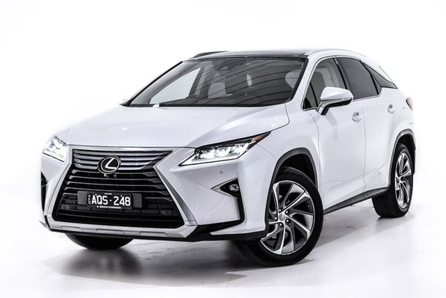 Used Lexus RX GGL25R RX350 Sports Luxury, 2017 Lexus RX GGL25R RX350 Sports Luxury White 8 Speed Sports Automatic Wagon
