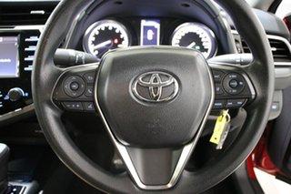2018 Toyota Camry ASV70R Ascent Red 6 Speed Automatic Sedan