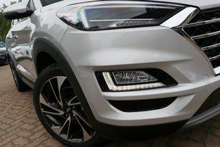 2019 Hyundai Tucson TL3 MY20 Highlander D-CT AWD Platinum Silver 7 Speed.