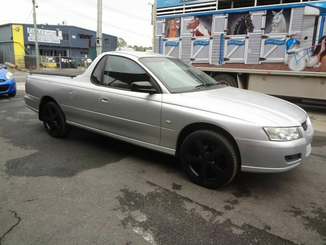 Used Holden Commodore VZ MY06 , 2006 Holden Commodore VZ MY06 Silver 4 Speed Automatic Utility