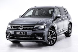 2019 Volkswagen Tiguan 5N MY19.5 162TSI Highline DSG 4MOTION Allspace Grey 7 Speed