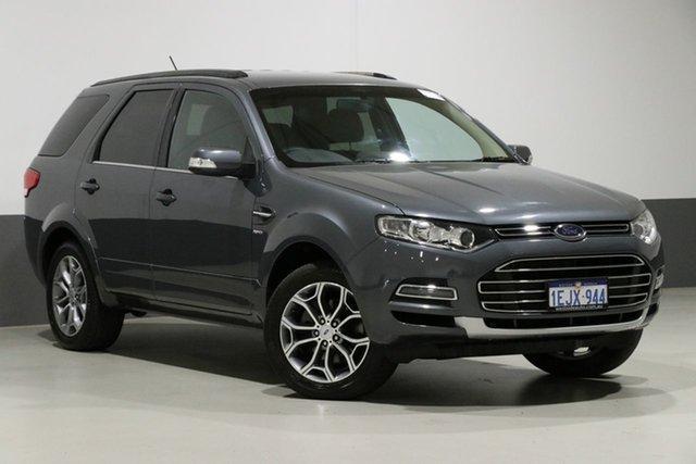 Used Ford Territory SZ MK2 Titanium (4x4), 2014 Ford Territory SZ MK2 Titanium (4x4) Grey 6 Speed Automatic Wagon